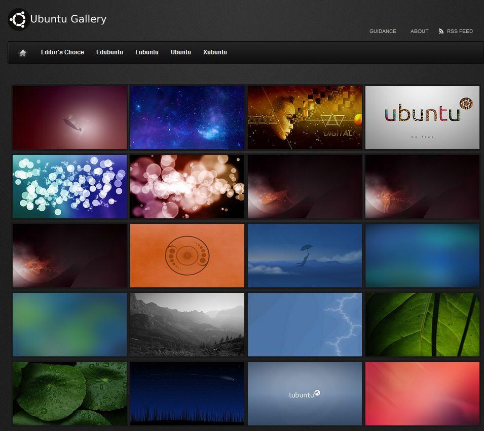 Ubuntu-Gallery