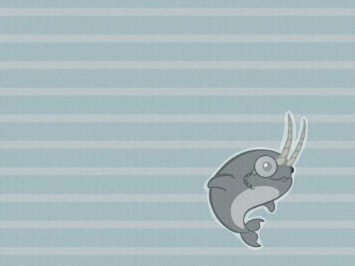 natty narwhal narwhals by corvocollorosso d398ufo 6 house hunters (wallpapers for Ubuntu 11.04)