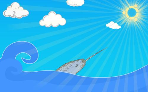 ubuntu__s_natty_narwhal_coming_by_dexterouz-d3e1wsg