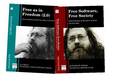 Se anuncia la publicación de dos nuevos libros de Richard Stallman