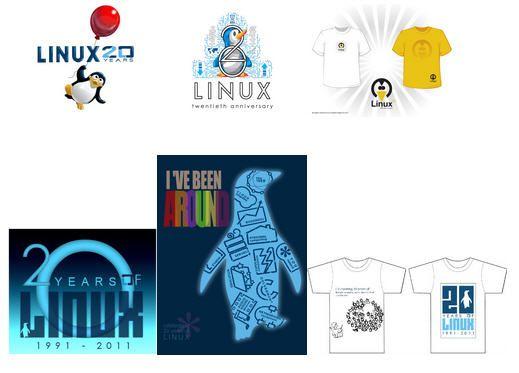 CamisetasAniversarioLinux