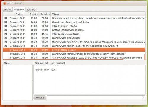 Asiste a sesiones de aprendizaje Linux con Lernid