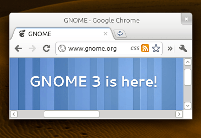 unnamed3 Adwaita , issue of integration for Chrome / Chromium in GNOME 3
