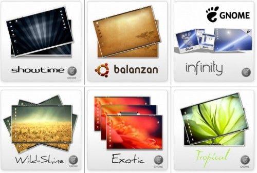 Los temas de Bisigi llegan a Ubuntu 11.04