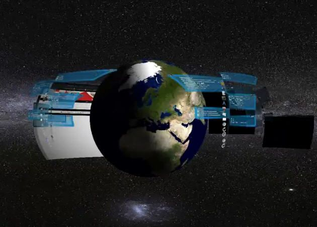 La Tierra en 3D como fondo de pantalla en Compiz
