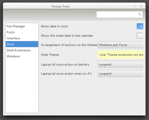 Surviving GNOME 500x402 TWG4 Shell (III): Tweak Tool, essential [Updated]