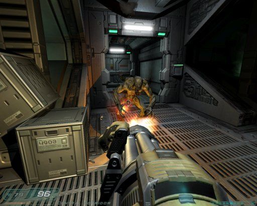 Doom 3 If hell comes we will make them regret it Doom3-delta