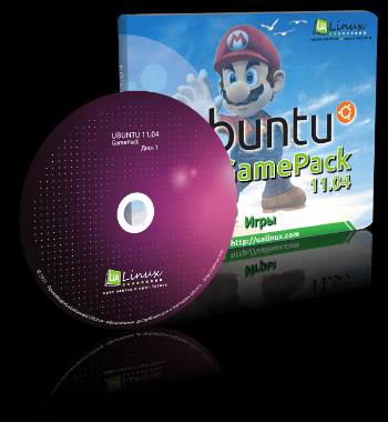 megapack Ubuntu GamePack 11.04: 5 DVDs repletitos de juegos