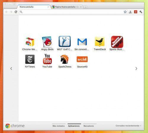 Chrome 15 en el canal beta, ¿qué os parecen las nuevas pestañas?