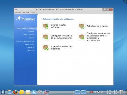 Mandriva 2011_Centro de control
