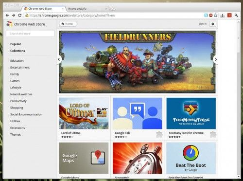 500x372 Chrome Chrome web store reaches the stable channel 15 with a fresh new tab page