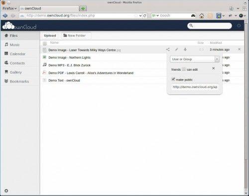 Un Dropbox a medida: ownCloud 2