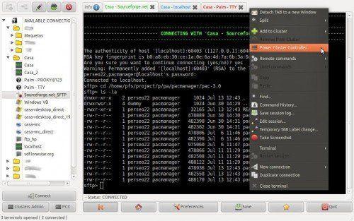 pac manager 3 500x313 PAC Manager, un gestor gráfico de conexiones SSH