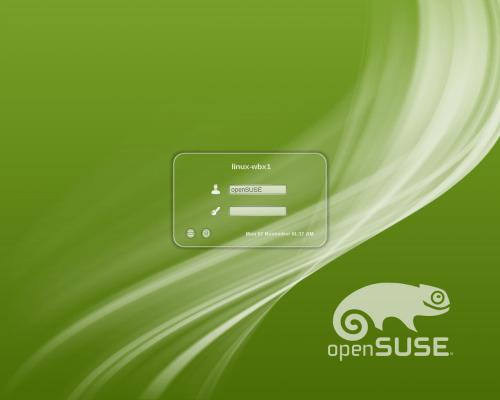 Opensuse-12.1-en-kdm