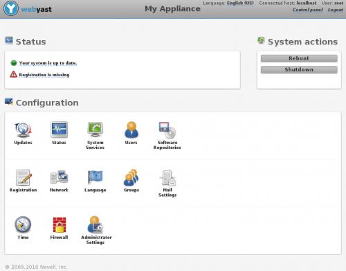 WebYaST_Screenshot