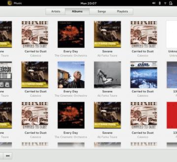 gnome-3-music-albums