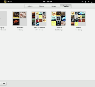 gnome-3-music-playlists