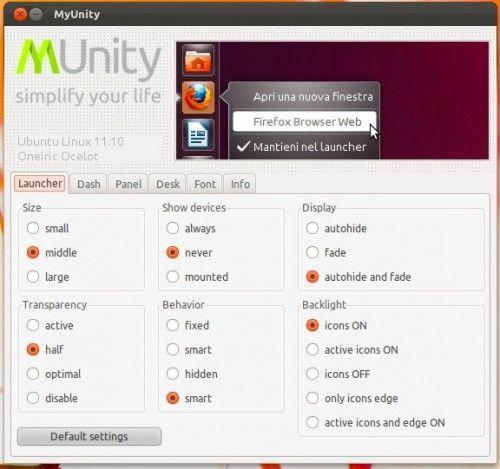 Unity bajo control con MyUnity