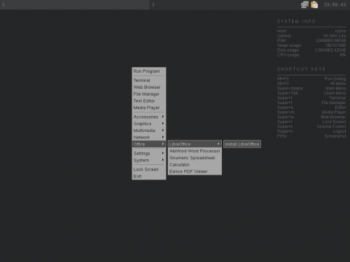 crunchbang4 500x375 Crunchbang Linux: el sistema minimalista