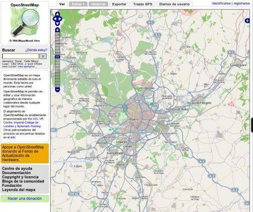 openstreetmaps 500x420 El proyecto OpenStreetMap pide donaciones