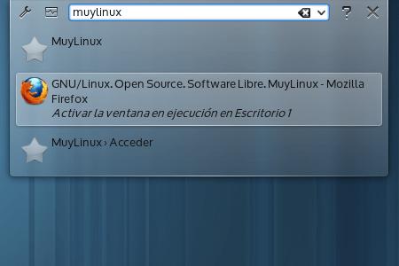 KRunner, el HUD vitaminado de KDE [Actualizada]