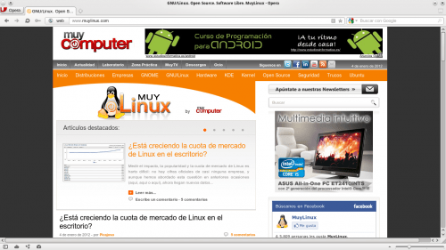 Opera 500x281 What is the best web browser for the KDE user?