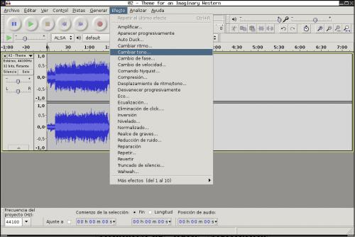 audacity 500x334 Producción y edición de sonido: herramientas fundamentales