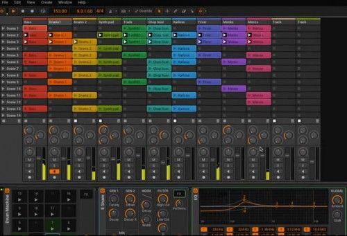 bitwig 500x341 Producción y edición de sonido: herramientas fundamentales
