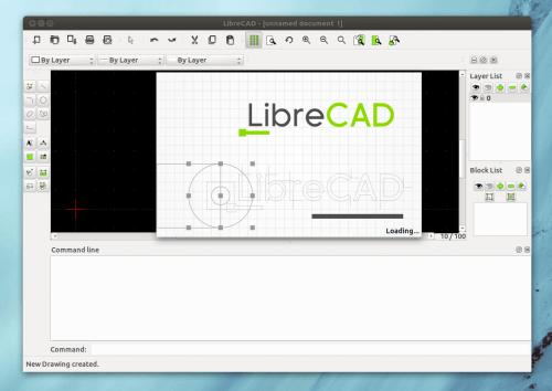 librecad 1 0 500x354 LibreCAD 1.0: nuevo año, versión redonda