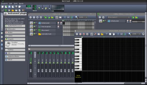 lmms 500x290 Producción y edición de sonido: herramientas fundamentales