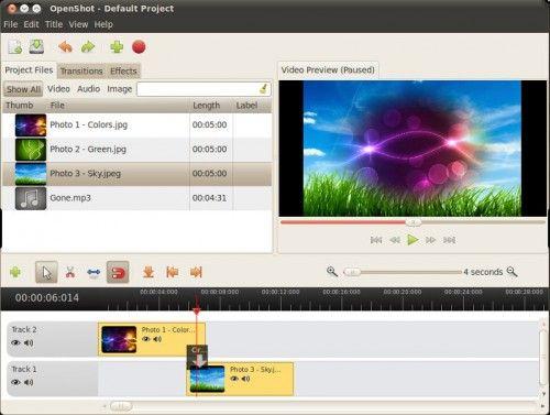 opensot 1 4 1 500x377 OpenShot 1.4.1, más estable y con más efectos