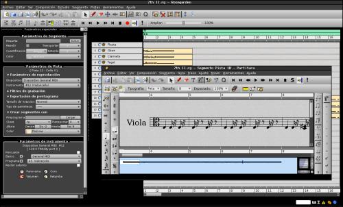 rosegarden 500x302 Producción y edición de sonido: herramientas fundamentales