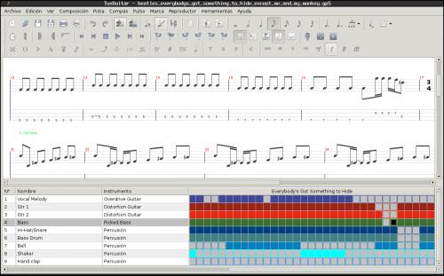 tuxguitar 500x311 Producción y edición de sonido: herramientas fundamentales