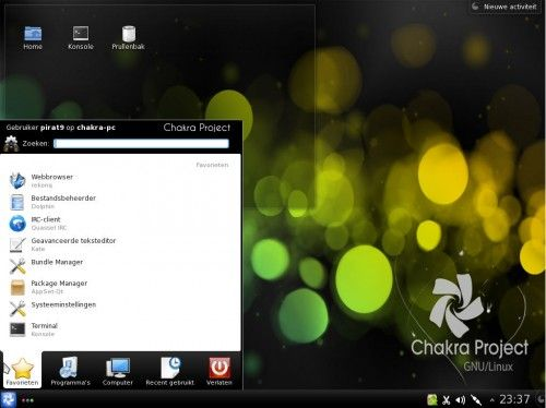 Chakra 2012.02 llega con KDE SC 4.8