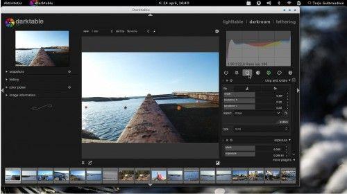 Aperture Linux, una distro para fotógrafos