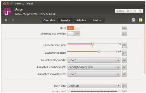 Ubuntu Tweak 0.7, perfecto para dejar Precise Pangolin niquelado