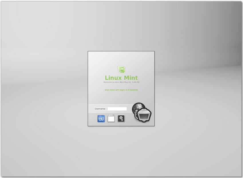 Linux-Mint-13-RC-MDM