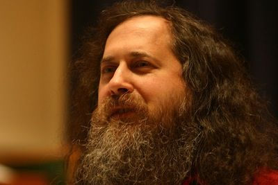 Richard Stallman Stallman and his opinion about Steam and games with DRM in Linux