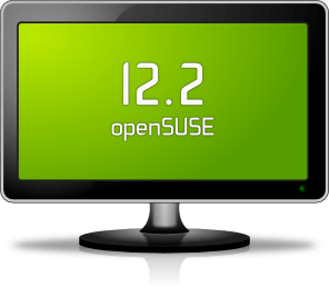 opensuse openSUSE 12.2 beta 2 December Beta, and with the Linux kernel 3.4