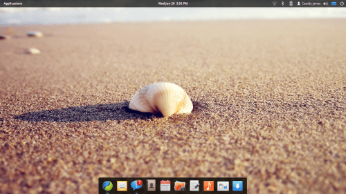 elementary OS Moon 500x281 Speaking of Mac OS X. .. OS elementary Moon
