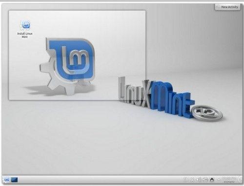 Linux Mint 13 KDE Release Candidate, disponible Linux-mint-13-kde-rc-500x382