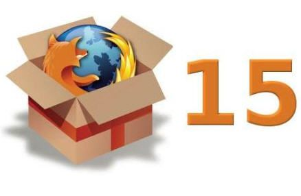 firefox 15 Firefox 15, and available via FTP