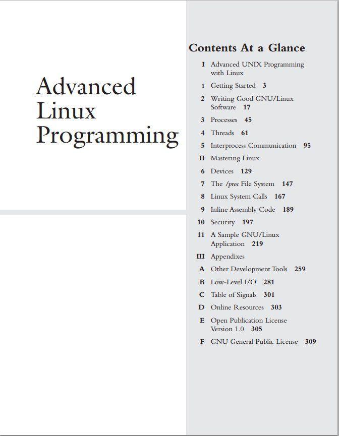 Advanced-Linux-Programming