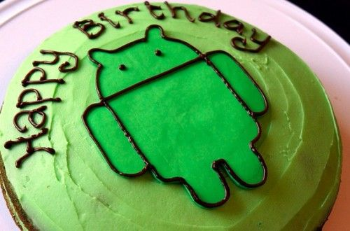 android anniversary Android 500x330 Five years, five years of success