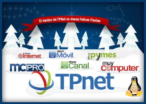 Christmas Card 500x356 MuyLinux We wish you happy holidays from TPNet and MuyLinux