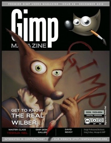 gimp GIMP Magazine magazine 390x500, perfect for fans of GIMP