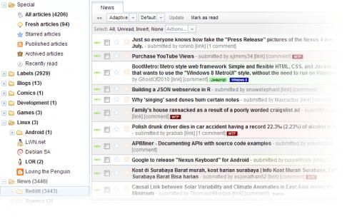 TinyTinyRSS 500x307 En busca del lector RSS más adecuado