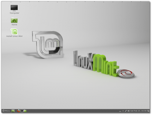Disponible Linux Mint Debian 201303