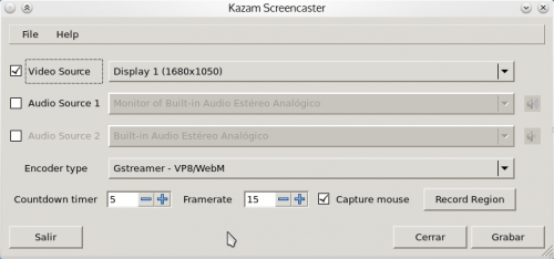Kazam 500x234 Various tools to record your desktop