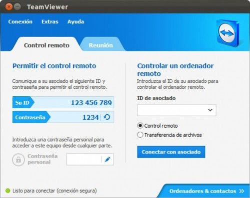 linux mainwindow 500x397 TeamViewer Linux reaches 8